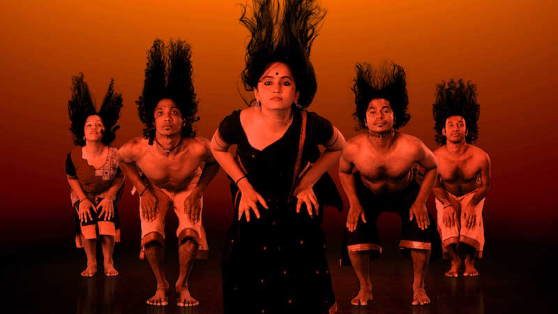 Multilayered Encounter:Physical theatre review