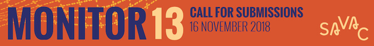 SAVAC - Monitor 13 - Call for Submissions